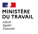 logo du Ministère du Travail, partenaire de l'organisme de formation Les 13 Vents-EIMCL (Tulle, Corrèze)