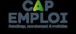 logo Cap Emploi (Handicap, Recrutement et Emploi), partenaire de l'organisme de formation Les 13 Vents-EIMCL (Tulle, Corrèze)