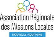 logo de l'Association Régionale des Missions Locales de Nouvelle-Aquitaine, partenaire de l'organisme de formation Les 13 Vents-EIMCL (Tulle, Corrèze)