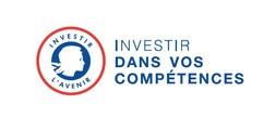 """logo """"Investir Dans Vos Compétences"""", partenaire de l'organisme de formation Les 13 Vents-EIMCL (Tulle, Corrèze)"""